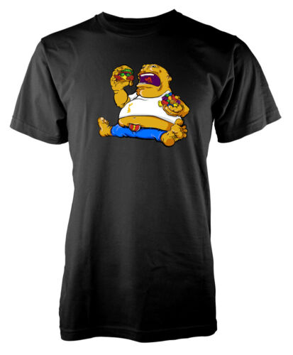 Funny Fatboy Burgers overweight  Adult T-Shirt