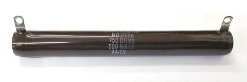 NEW Ohmite L100J750 750 Ohm 100 Watt Wirewound Power Resistor 100W