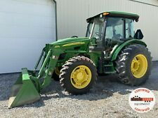 2011 John Deere 5101e Tractor With Loader Cab 4x4 Heat Ac 101 Hp Pre Emissions