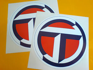 TALBOT-T-Logo-Classic-Race-Rally-Motorsport-Stickers-Decals-2-off-150mm