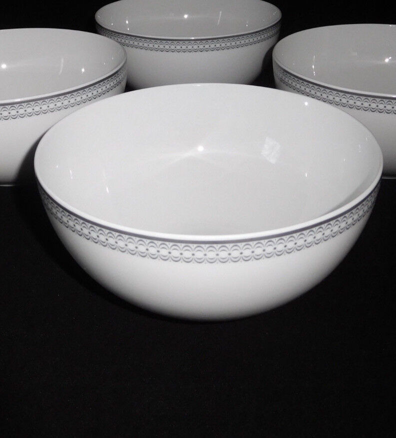Rosanthal Platin Illusions 4 4 4 Müslischalen   Bowl 14 cm Neuware | Mittel Preis  2f3829