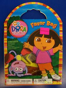 Dora the Explorer Nick Jr Cartoon Kids Birthday Party Favor Set Gift