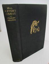MRS ASTOR'S HORSE by Stanley Walker, 1935 1st Ed Illustrated