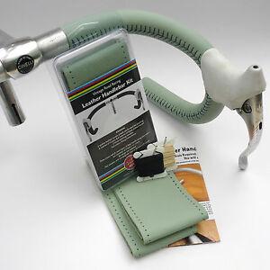 Velobitz-Bianchi-Celeste-Leather-Handlebar-Cover-Kit-Wax-Thread-amp-Needles