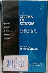 Cities-in-Stress-A-New-Look-at-the-Urban-Crisis-Hardcover-Mark-Gottdiener