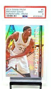 2014-Prizm-SILVER-REFRACTOR-Lakers-Star-ANTHONY-DAVIS-Card-PSA-9-MINT-Low-Pop-6