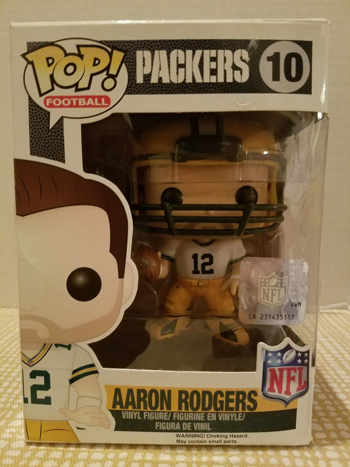 Funko pop - nfl  welle 1 - aaron rodgers action - figuren