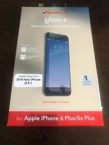 """ZAGG Invisible Shield HD Glass for Apple iPhone 6 Plus & iPhone 6s Plus 5.5"""""""