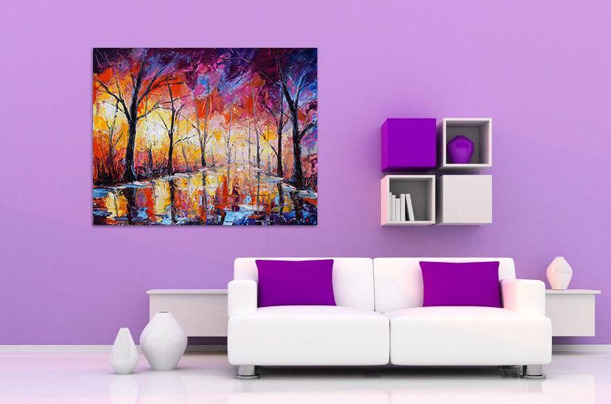 3D Wald und seen 678 Fototapeten Wandbild BildTapete AJSTORE DE Lemon