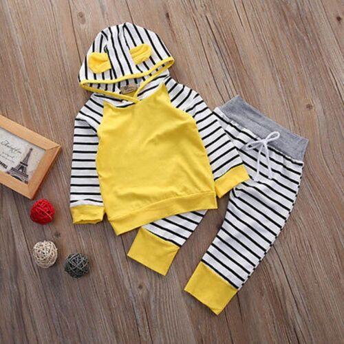 Baby Kinder Set Pullover Hose Jogginganzug Hoddie Mädchen Junge 62 68 74 80 86