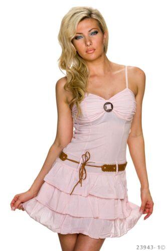 Damen Mini Kleid Party Cocktail Tanzkleid Latina A-Linie Schulterfrei Volant