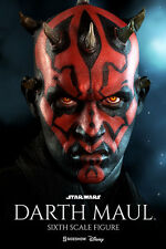 DARTH MAUL Sideshow/Hot Toys 1/6 Figure (Duel on Naboo) ray park UK MEGA SALE!