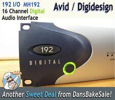 Digidesign Avid 192 Digital Interface I/O 16 Channel MM192-D Near Mint Condition