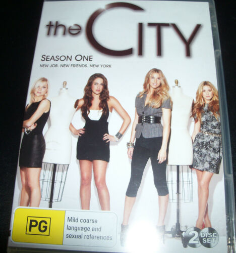 1 of 1 - The City Season One 1 New Job New Friends New York (Aust Region 4) DVD