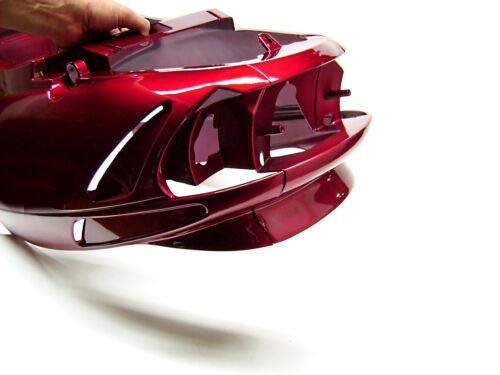 06307991 Body Cover Magenta-Rot et Genuine Malaguti F 10 Fairing Heck