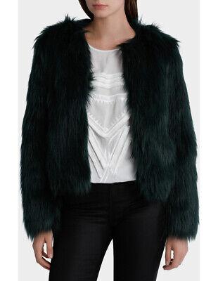 a8049c9e9 NEW Wayne Cooper Toxic Faux Fur Chubby Green | eBay