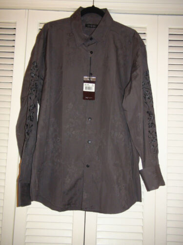 Camisa Kms L Nwt algodón hombre L Gris de 100 Arizona 2085 para 145 Zagiri s M 2xl rHTwZr