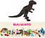 Tyrannosaures-Dinosaures-de-11-cm-Figurine-Peint-a-la-Main-Jouet-Bullyland-61351 miniature 10