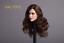 1//6 European American Female Head Sculpt avec de longs cheveux bouclés en Pâle EN STOCK