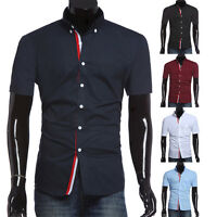 Mens Collection Mens Luxury Fashion Formal Casual Suits Slim Fit Dress Shirt Top