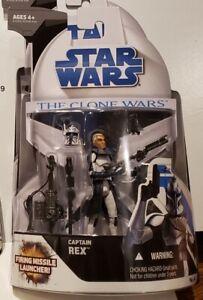 "Star Wars - Clone Wars (No.4): Captain Rex 3.75"" Figure"