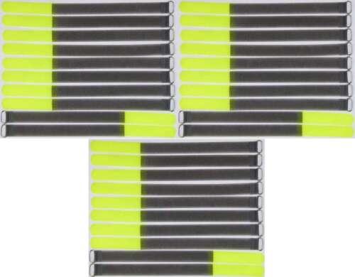 30 VELCRO Serre-câbles 300 x 20 mm jaune fluo FK kabelklettband câble Velcro Velcro