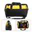 thumbnail 1 - 16 Inch Tool Bag Hard Bottom, Shoulder Strap, Heavy Duty Tool Case, Carry Handle