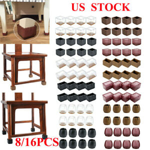 8x-16x-Silicone-Chair-Leg-Caps-Feet-Pads-Furniture-Table-Covers-Floor-Protector