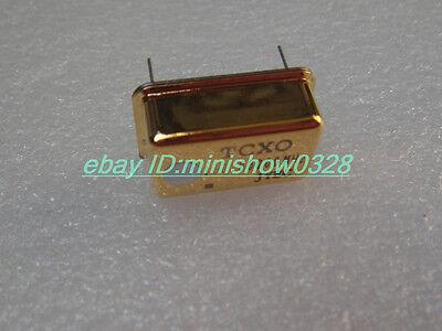 1pcs TCXO 0.1ppm 10.000MHz 10MHZ Ultra precision Gold Oscillator FOR audio DIY