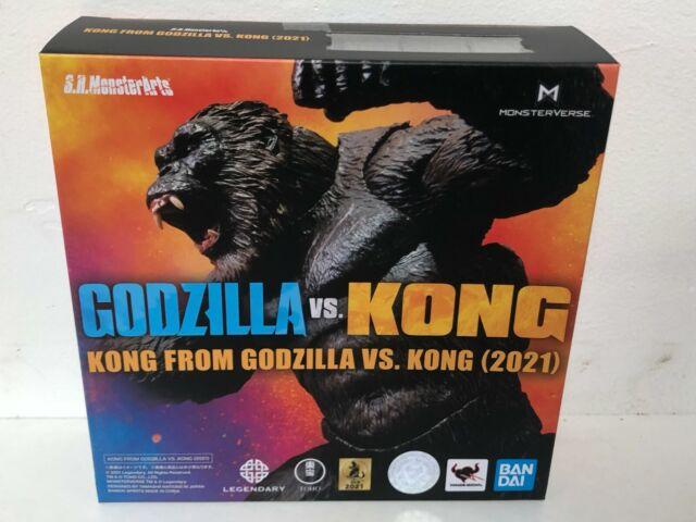 IN STOCK! AUTHENTIC SH MonsterArts GODZILLA VS KONG 2021 KONG BANDAI (US SELLER)