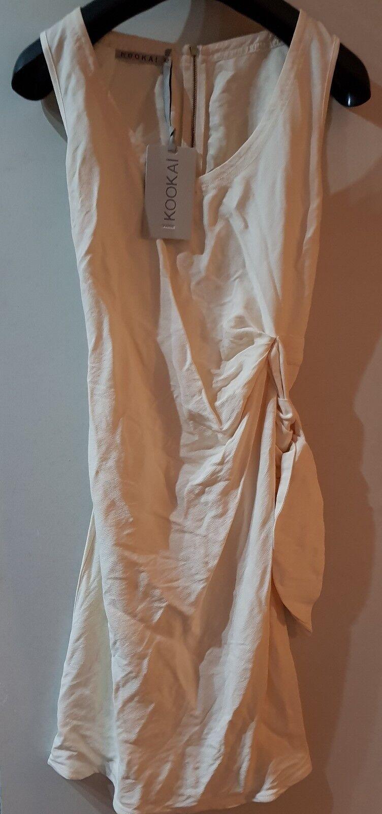 Kookai Side tie wrap dress Size 40 RRP (325)