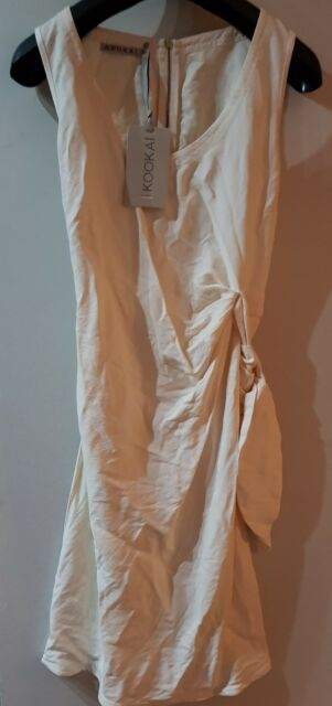 Kookai Side tie wrap dress Size 40 RRP£106 (325) fc731cb50