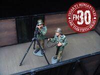 Figarti European Theatre Ww2 German Etg-044 Anti Aircraft Machine Gun Team