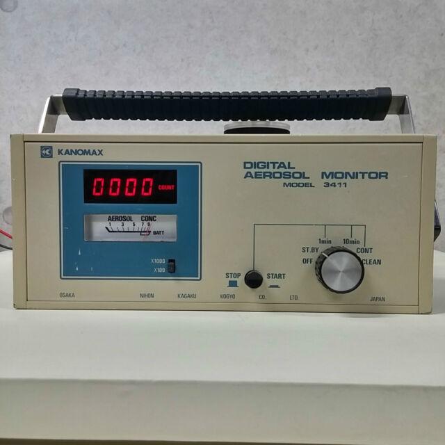 Used KANOMAX MODEL 3411 - Digital Aerosol Monitor