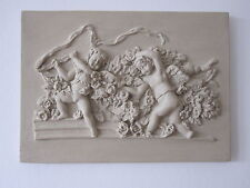 BEAUTIFULL VINTAGE FRENCH COUNTRY  CHERUBS  WALL PLAQUE /FURNITURE DIY.