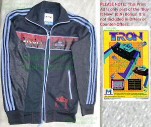 Details about NITF Adidas Tron Disney Adicolor Track Jacket Size X Small Full BIG PICS