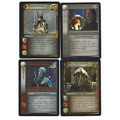 CCG 19 Lord of the Rings / Hobbit Promo Set 12 TF 1 - 4 (4) Foil