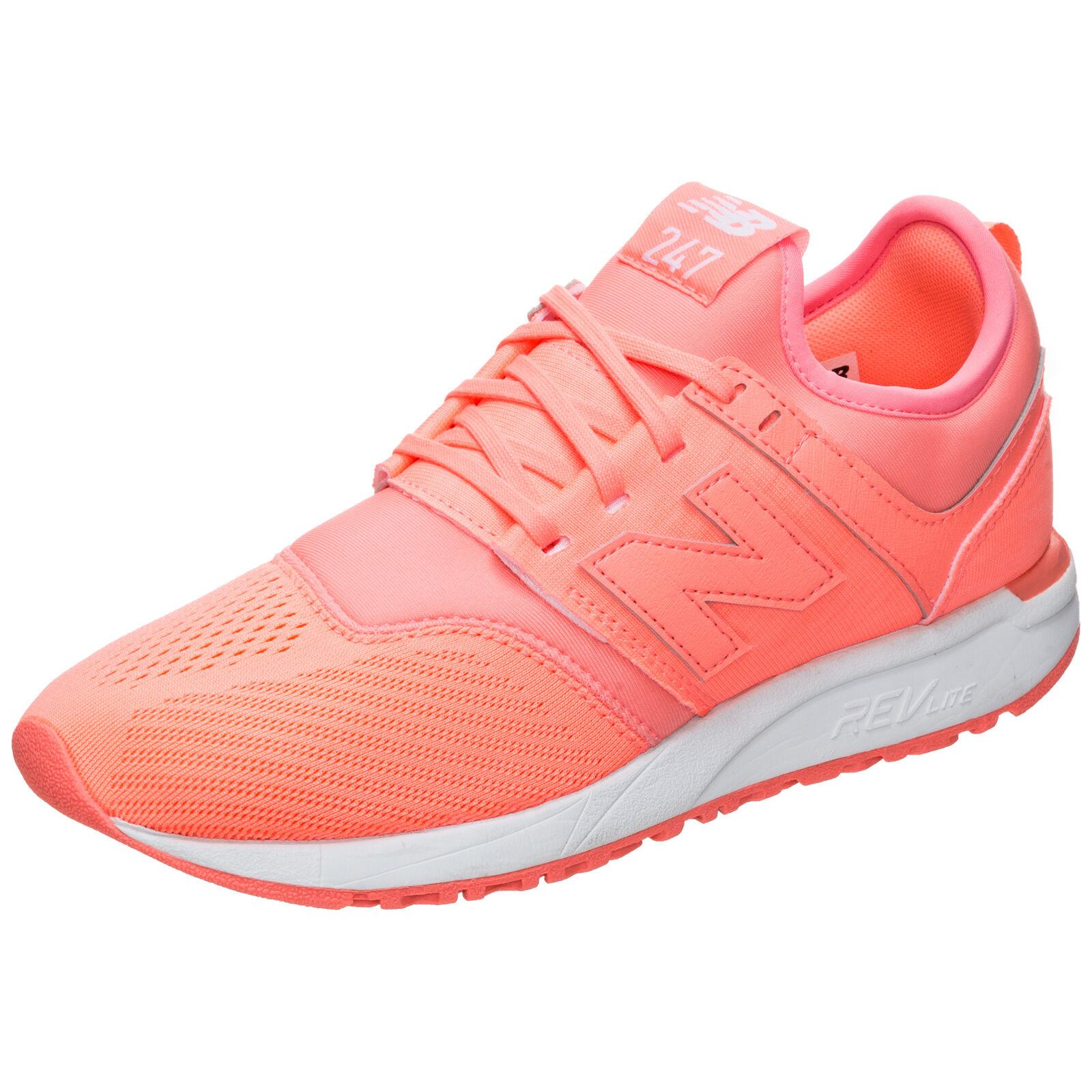 New Balance WRL247-SW-B Turnschuhe Damen korall   weiß NEU Schuhe Turnschuhe