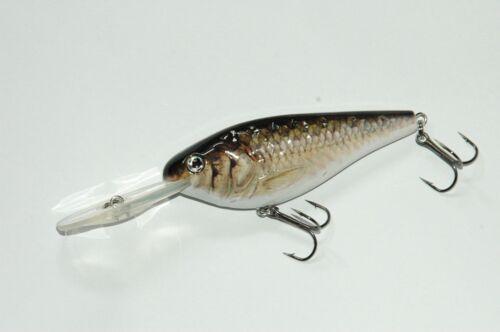 Leurre réaliste pêche mer rivière Crankbait Live Oléron IØ 8cm 15g N°1