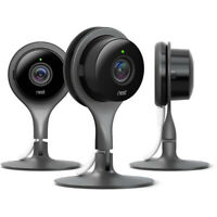 3-Pack Google Nest Cam Indoor 1080p HD Security Camera