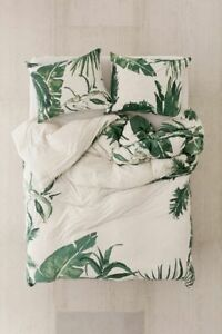 Urban Outfitters Expressive Palms Jersey Duvet Cover Twin Xl 99 Msrp Ebay