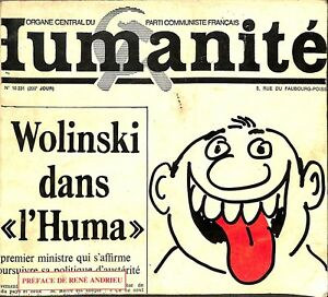 Details Sur Livre Dessins Wolinski Dans L Huma Parti Communiste Francais 1977