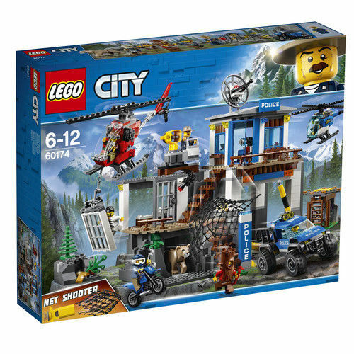 LEGO City SET Mountain Police Headquarters 2018 SET 60174