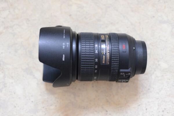 Analytique Nikon Jaa794da Af-s Dx Ed Vr Ii 18-200 Mm Dx F/3.5-5.6 Fx Lens Officiel 2019