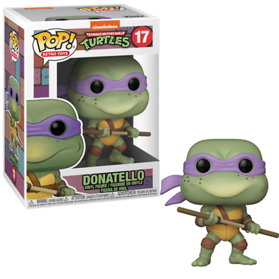 Retro Toys Teenage Mutant Ninja Turtles TMNT Funko POP Donatello #17 NIB
