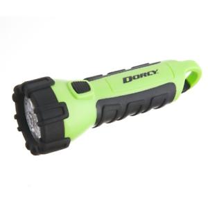 Neon Dorcy 55-Lumen Waterproof Floating LED Flashlight with Carabiner Clip