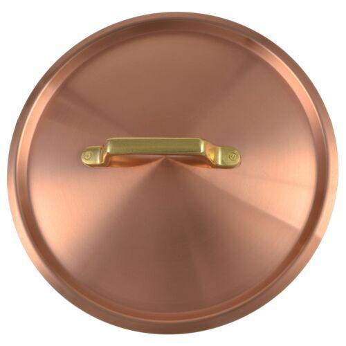 Copper manufactory Weyer Mountain Copper Lid Pot Lid Pans Lid Brass Handle