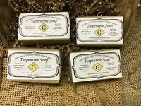 4 Bars Of Turpentine Soap
