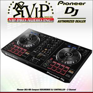 Pioneer Ddj Rb Compact Rekordbox 2 Channel Usb Dj Controller W