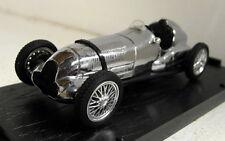 Brumm 1/43 Scale 100 Jahre 1886/1986 Chrome Auto Union D-Type diecast model car